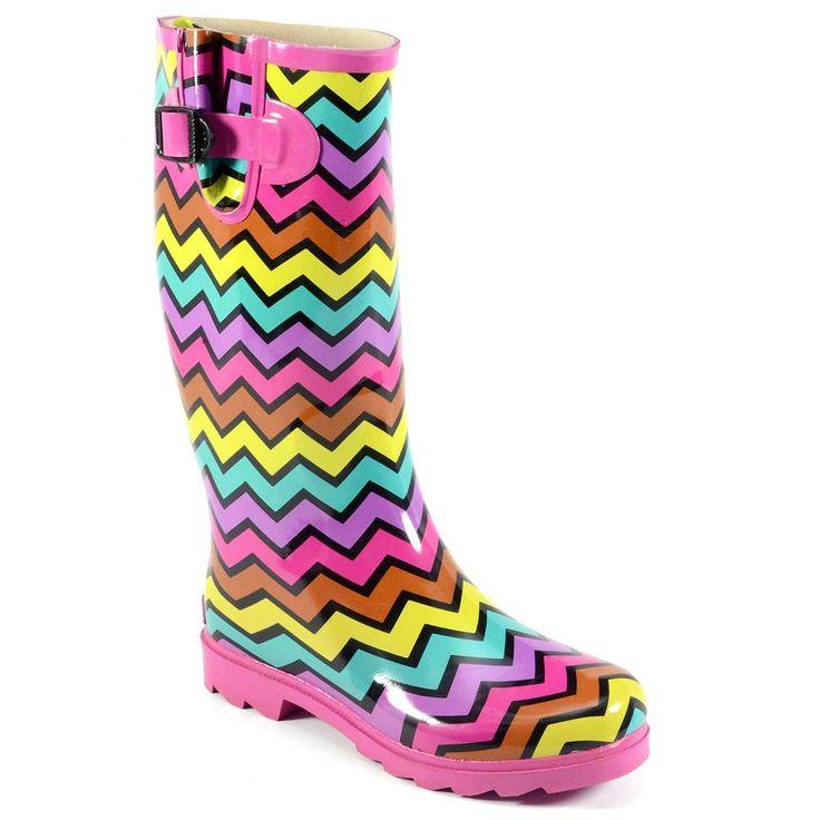 Corkys Sunshine Women's Rain Boots, Size: 11, Pink