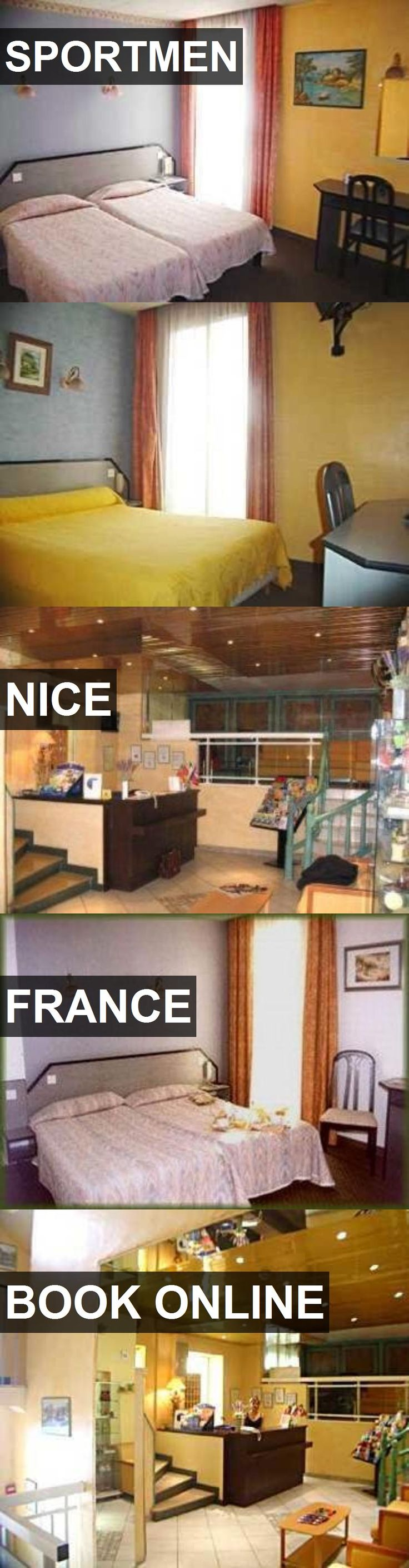 Hotel SPORTMEN in Nice, France. For more information, photos, reviews and best prices please follow the link. #France #Nice #SPORTMEN #hotel #travel #vacation