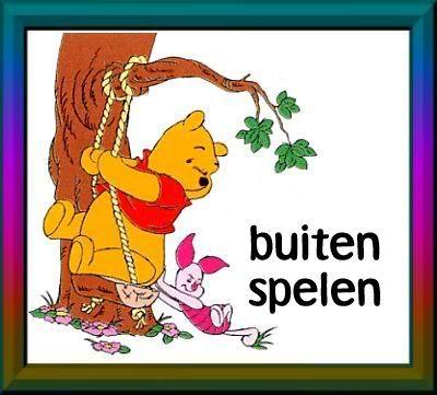 Winnie de Pooh - buitenspelen 2
