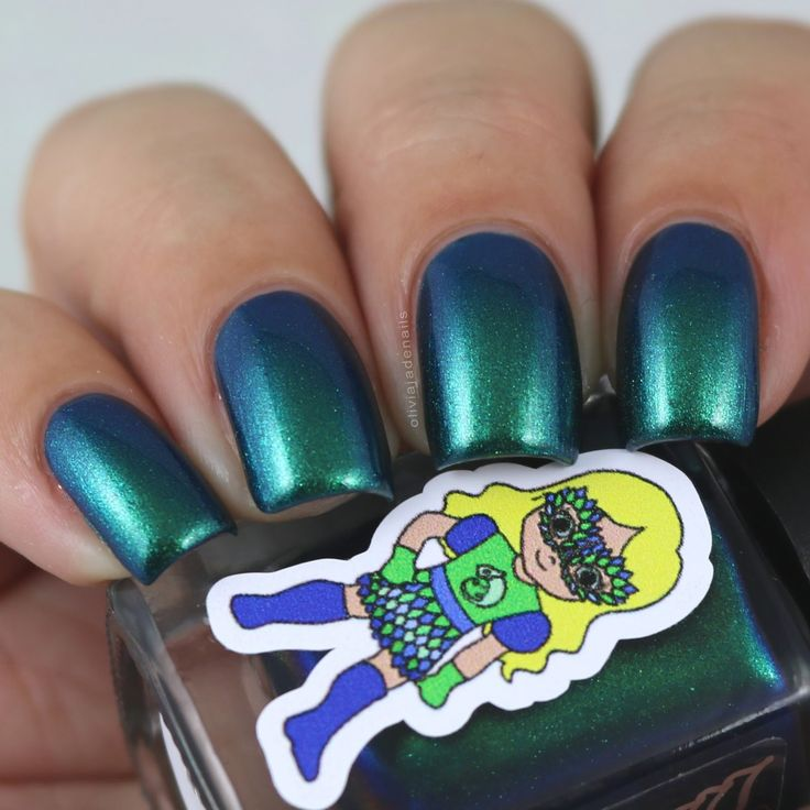 Grace-full Nail Polish Multichrome Minx swatched by Olivia Jade Nails