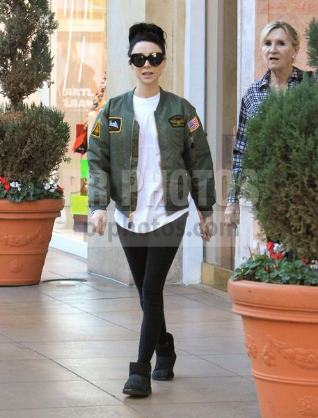 Alessandra Torresani Sighted Shopping in Beverly Hills on December 11 2017