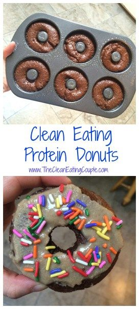 Clean Eating Protein Donut Recipe | The Clean Eating Couple