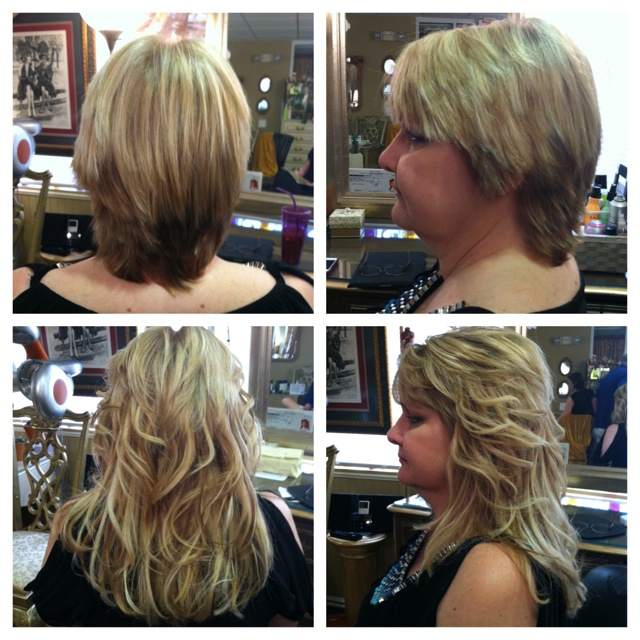 30 best hair extensions images on pinterest hair hair beauty hair extensions before after installed by one of our very own stylists pmusecretfo Image collections