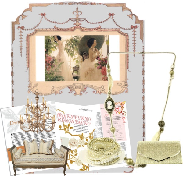 """""""Vintage Glamour"""" by kitaccessories on Polyvore"""