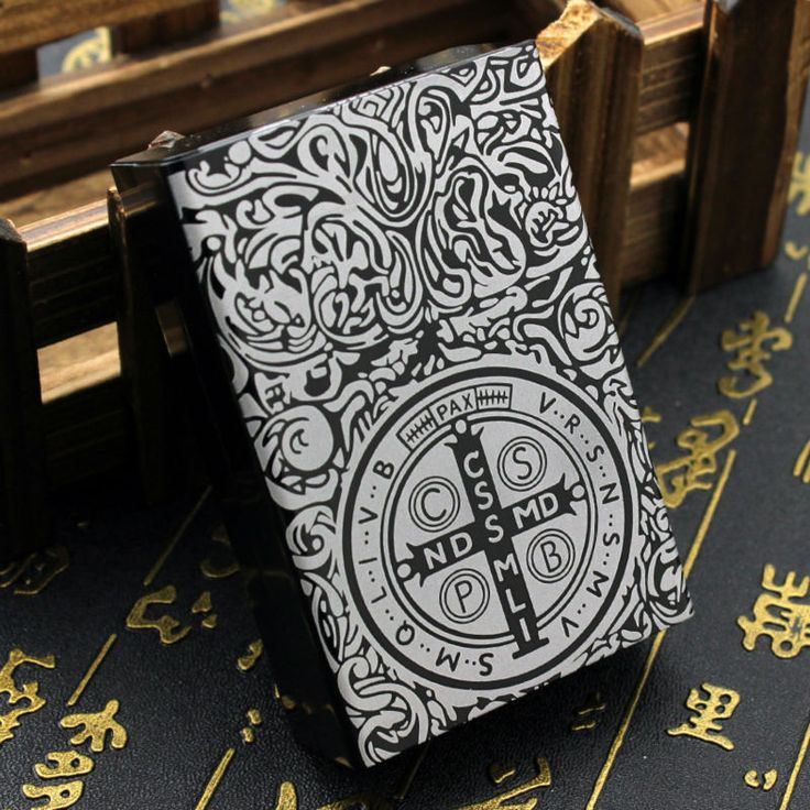 Metal Aluminium Alloy The Related Products Of Constantine Movies Design Creative Smoking Accessories Gift 20 PCS Cigarettes Case