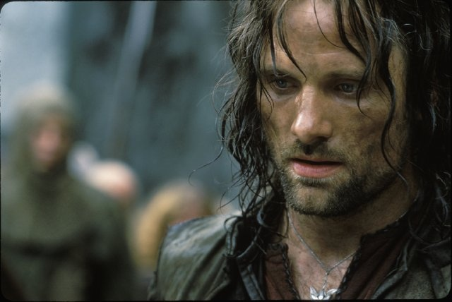 Viggo Mortensen as Aragorn #LOTR
