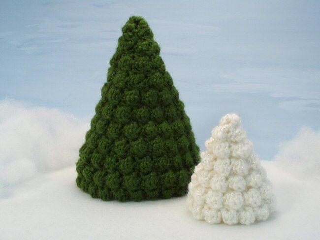 Christmas Trees crochet pattern