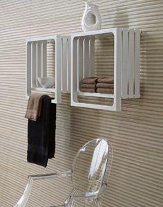 radiateur-seche-serviettes-eau-chaude-5184-1980243 La touche d'Agathe – salles de bain, bathroom, bath, bain, shower, sink, lavabos, towel, serviettes, vanity, galets - toilet toilettes