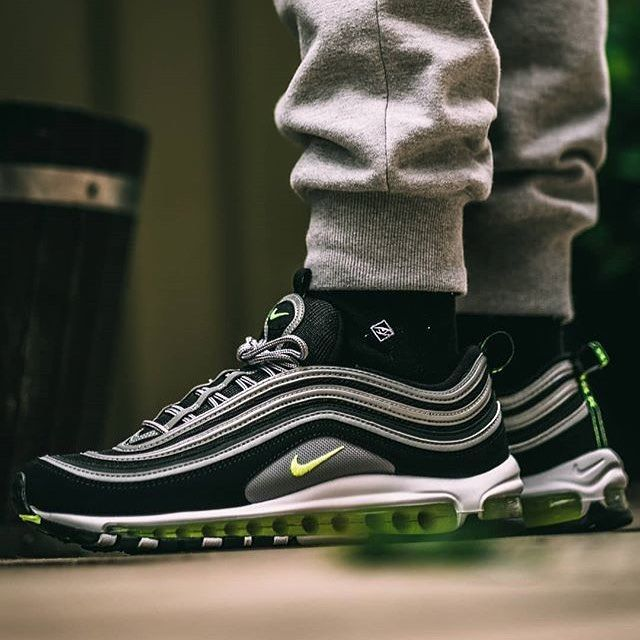 228 Likes 9 Comments J Clay Socks J Clay Socks On Instagram Basic But Perfect For The Airmax97 Vrs 0ne Nike Air Max 97 Nike Air Max Air Max 97