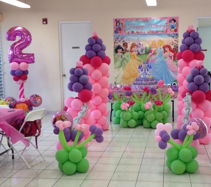 Disney princess decoration balloon decorations pinterest for Princess dekoration