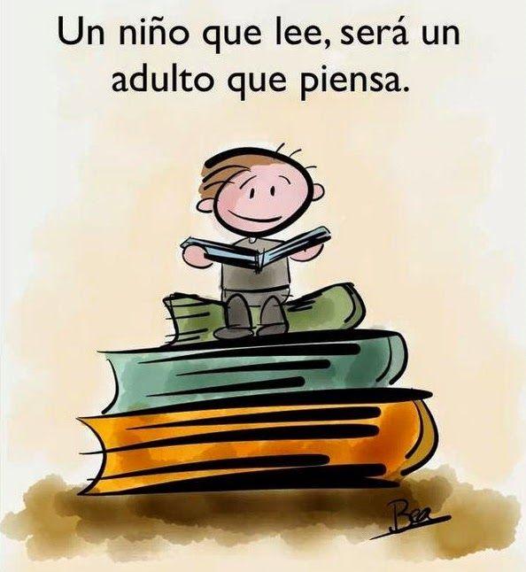 """Crea y aprende con Laura: La Frase de la Semana: """"Un niño que lee..."""""""