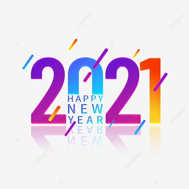 Colorful Gradient 2021 Happy New Year Font Design Element Element Font Design Happy New Year Png Transparent Clipart Image And Psd File For Free Download Happy New Year Png Happy New