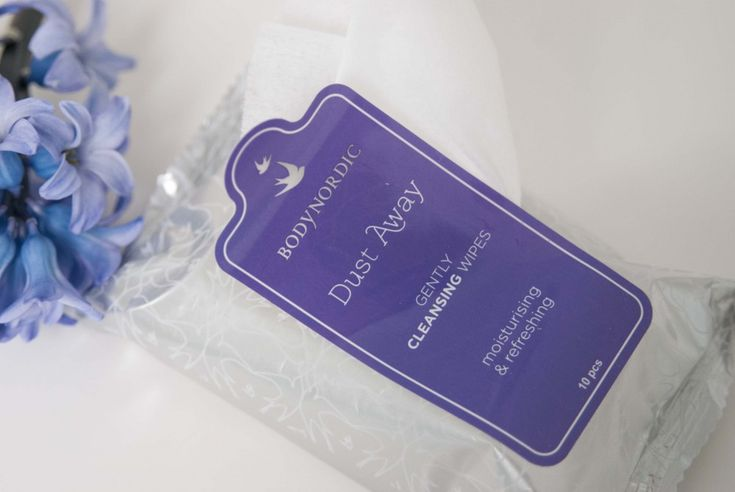 My favourite cleansing wipes from Body Nordic. See more at www.evabyeva.dk