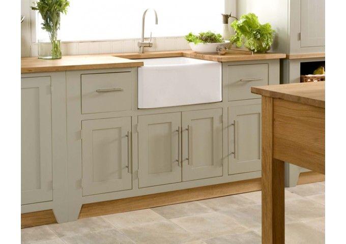 Living kitchen freestanding Belfast sink base. Difference between belfast and butler sinks?