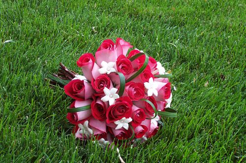 Rose And Stephanotis Wedding Bouquets - The Wedding Specialists