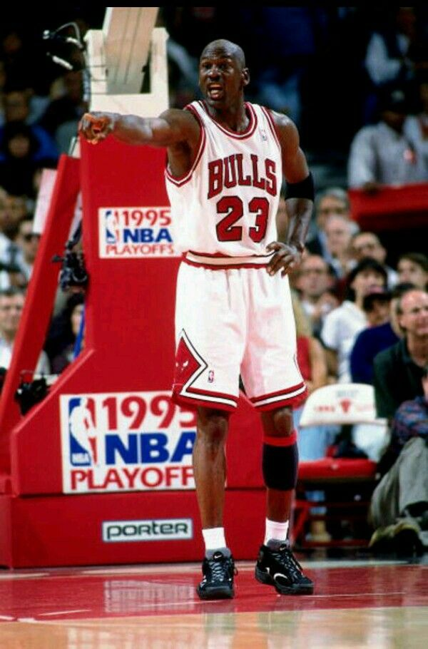 ec81c1ee7c1d Michael Jordan wearing Nike Air Flight