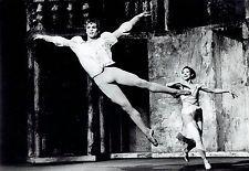 """1966 Vintage SILVER GELATIN Photo Rudolf Nureyev Margot Fonteyn """"Romeo & Juliet"""""""