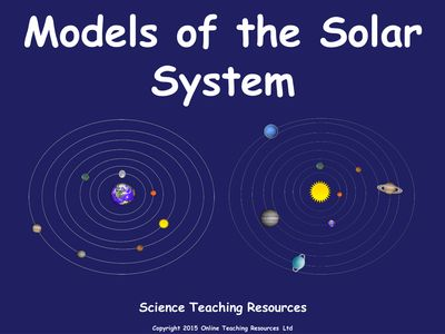 teaching the solar system - photo #14