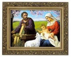Znalezione Obrazy Dla Zapytania Swieta Rodzina Przy Zlobku Haft