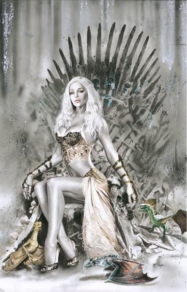 Daenarys Throne by DarkSilverStudio.deviantart.com on @DeviantArt