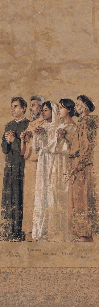 The Communion of Saints, LA Cathedral Tapestry