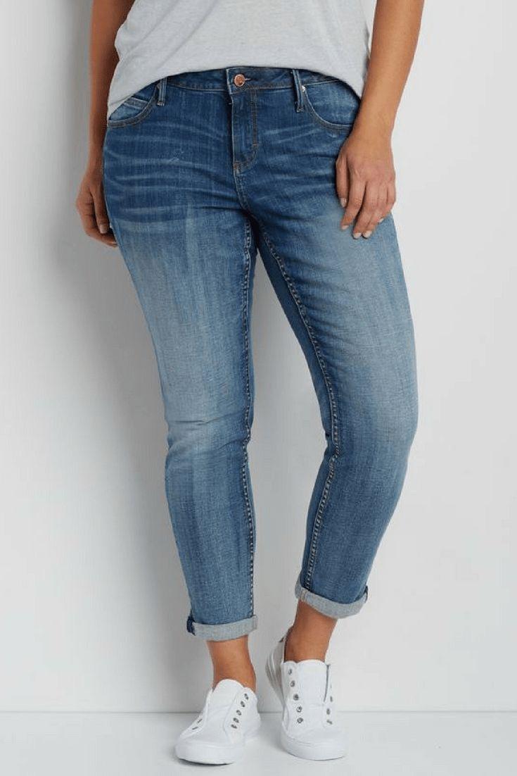 How To Wear Plus Size Skinny Jeans