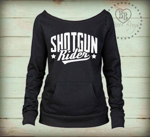 Shotgun Rider - Tim McGraw  Country Sweatshirt design by BijouBuys