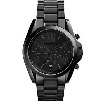 Not sure if I want rose gold or all black - Michael Kors Bradshaw Chronograph Black Ion-plated