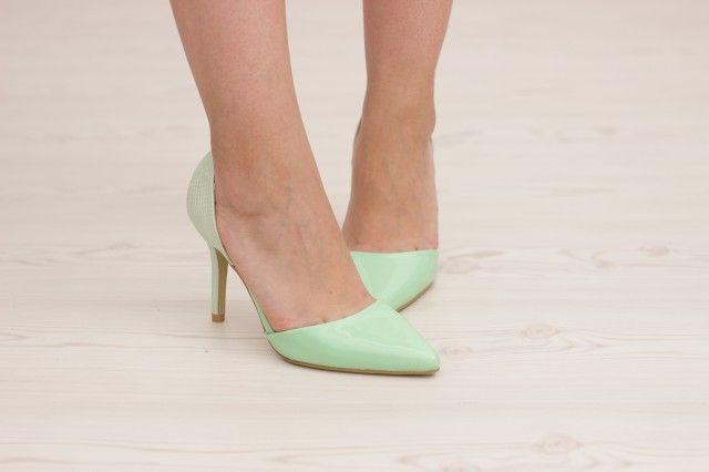 Pantofi cod CH31003 Green