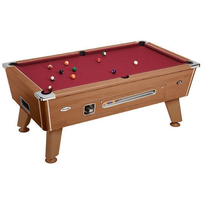 DPT Omega Coin Operated Pool Table