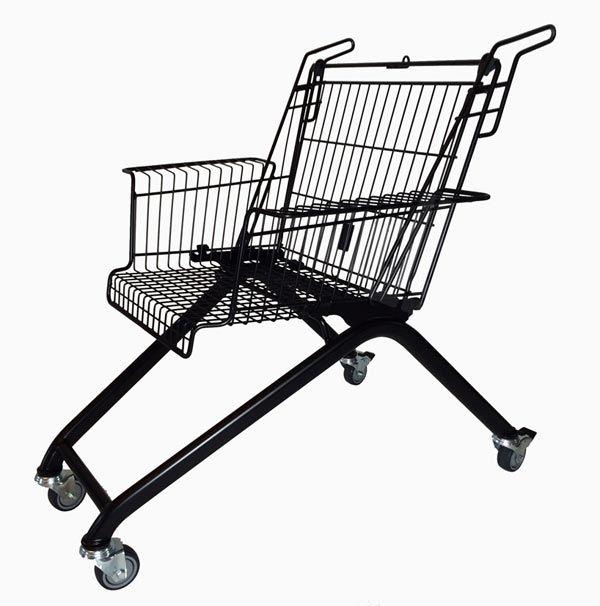 Вторая жизнь магазинной тележки - кресла Xavier Degueldre