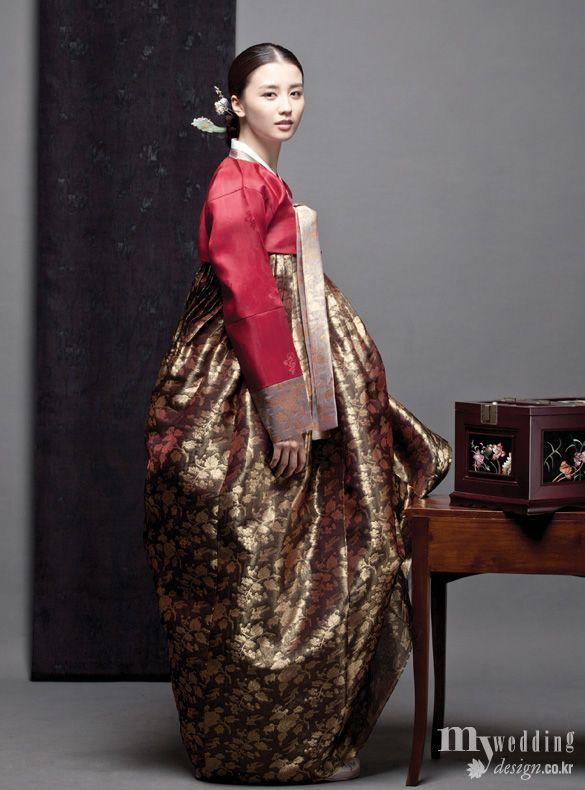 Hanbok, korean traditional clothes / 송혜원 / 박하선 / 단아한 기품 / My wedding