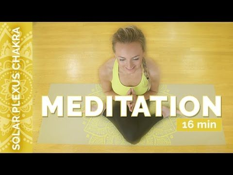 Solar Plexus Chakra Meditation: Guided Meditation For Willpower & Motiva...