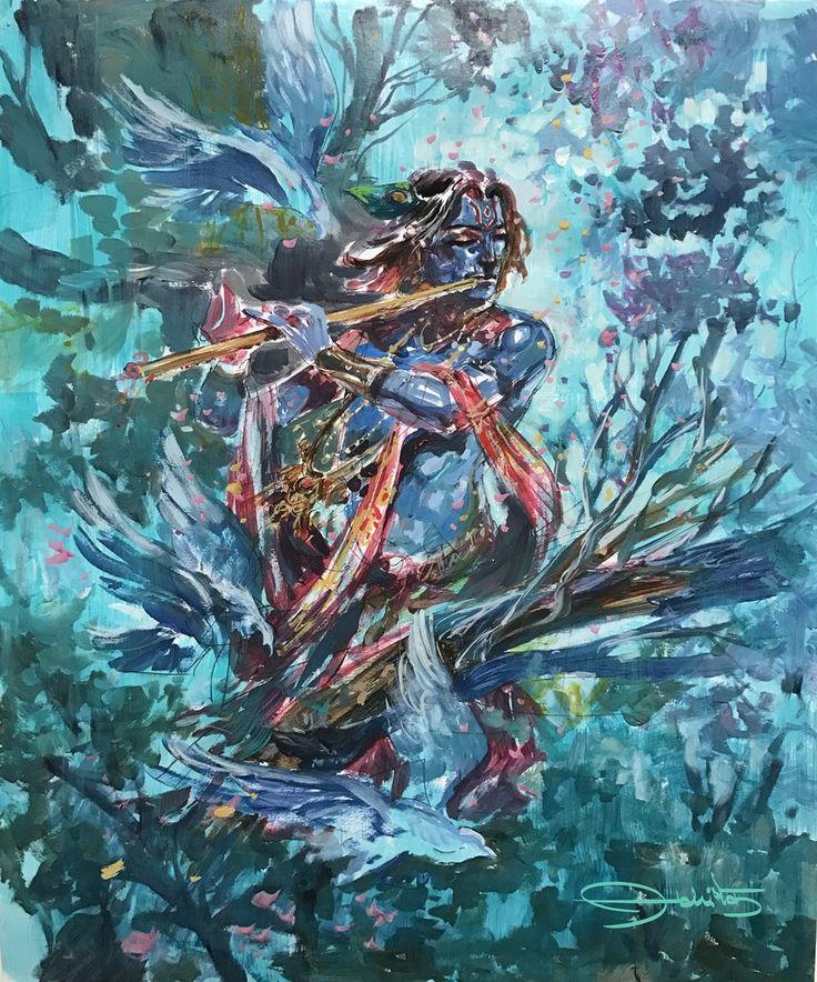 Krishna - Abhishek Singh Art