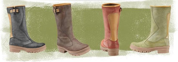 Step through the seasons in playful, waxed suede comfort with the new women's Willamette Boots #boots #keen #fall
