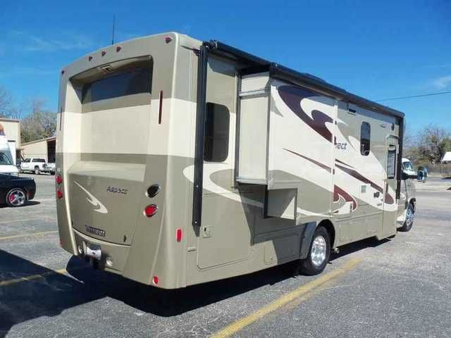 2015 New Winnebago Aspect 27K Class C in Texas TX.Recreational Vehicle, rv, 2015 Winnebago Aspect 27K, 2015 Winnebago Aspect 27K, Mountain View/Amber Interior design, Interior upgrade package includes: Backsplash behind range, cab seat lounge cushions, cab floor mats, IP & beverage tray applique, Blackout roller shades, Wall mirror, Range cover, 2 Sink covers, 2 Throw pillows, Microwave/convection oven, Infotainment GPS, Paint & Graphics, Water purifier, Skylight and roof vent in bathroom…