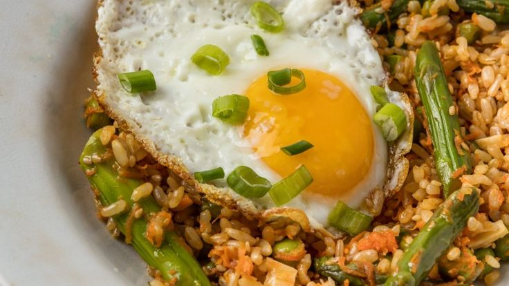 How to make healthy fried rice
