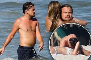 @InstaMag - Actor Leonardo DiCaprio was spotted kissing model and his girlfriend Nina Agdal here.