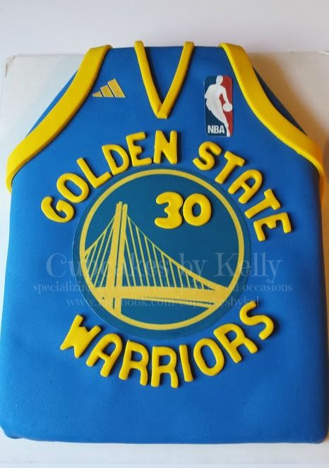 Golden State Warriors Cake Cakes Cake Pops And