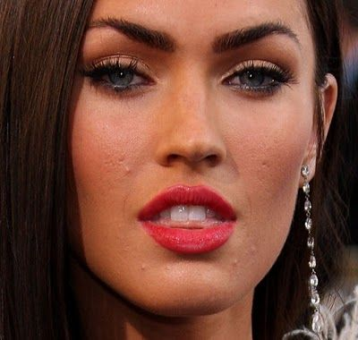 Megan Fox without Photoshop. | Photoshop | Pinterest K Michelle Before And After