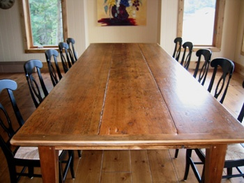 12 Foot Pine Harvest Table | House | Pinterest | Pine, High Gloss And Tables