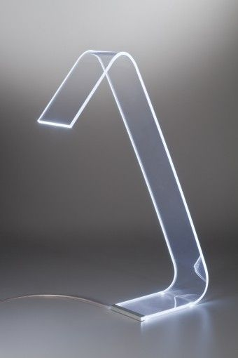Plexiglass LED-lamp