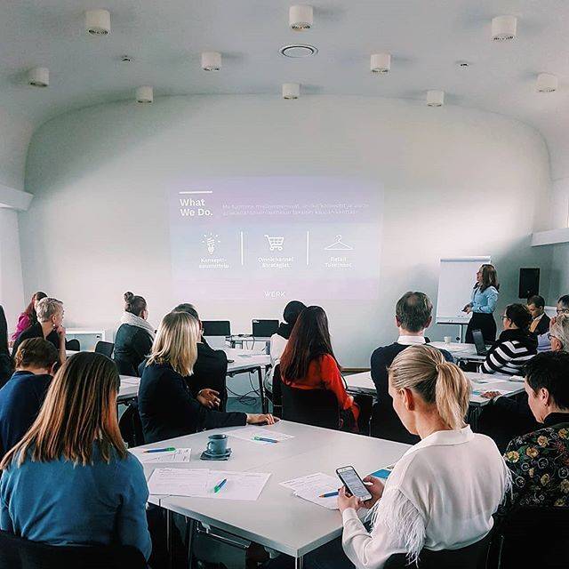 We had the pleasure to take part in the Think Tank - sessions on the future of fashion retail this morning with the members of Suomen Kauppakeskusyhdistys and Rakli. How do you see fashion retail in future shopping centers? . . . . . #futureofretail #fashion #fashionretail #omnichannel #retailexcellence #inspiration #inspiredaily #retailexcellence #motivational #startup #startuplife #entrepreunialmindset #entrepreneurship #entrepreneurs #concept #shoppingcenter #thinktank