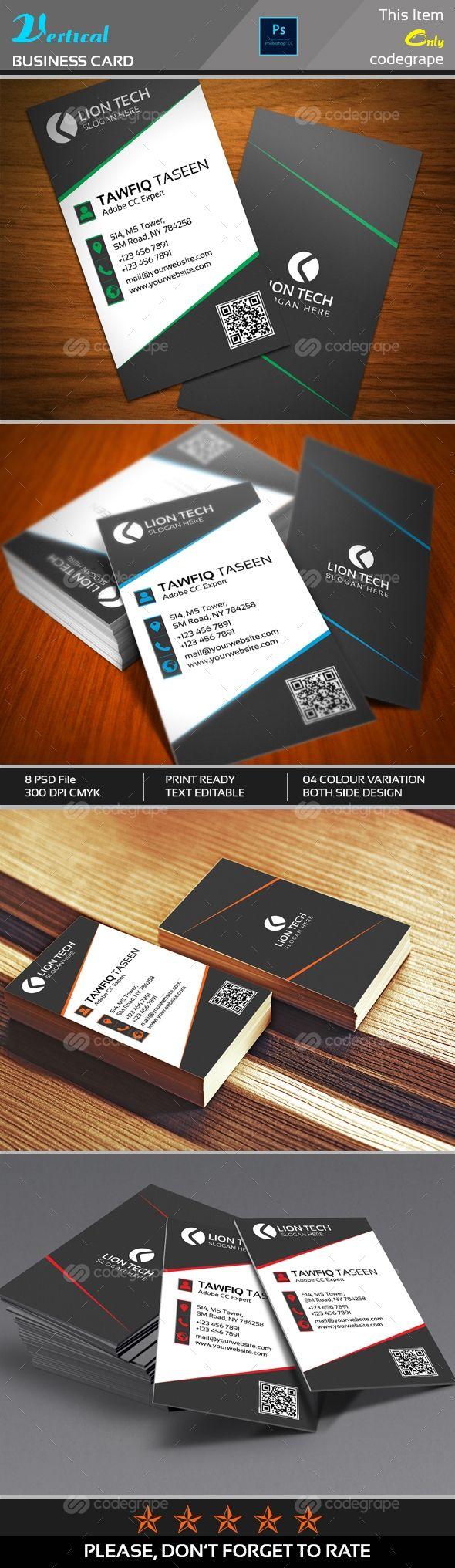 Magnificent Color Tech Business Cards Ideas