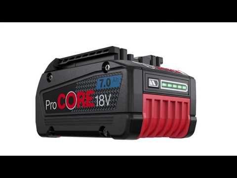 Batterie ProCORE18V 7.0Ah et perceuse-visseuse sans-fil Bosch : un duo très performant: La nouvelle batterie ProCORE18V 7.0Ah… #InfoWebBTP