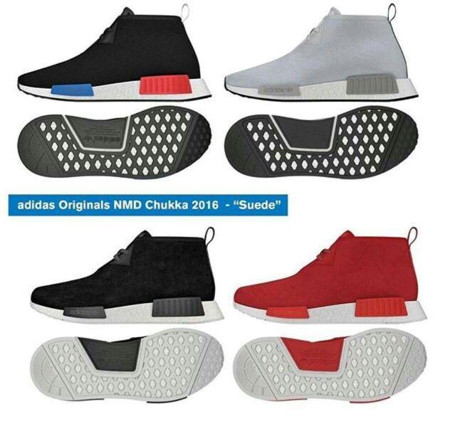 Cheap Adidas NMD R2 Men's Running Shoes Black/Black/White