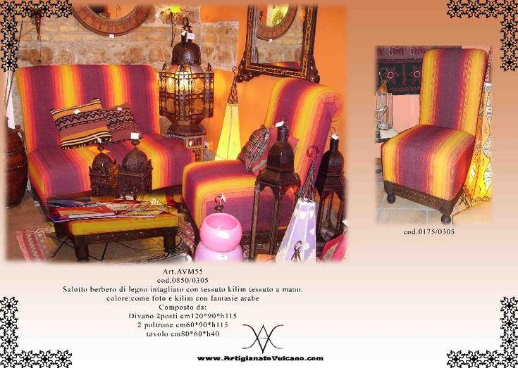 Salotto marocchino completo