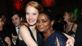 Octavia Spencer: 'Jessica Chastain helped me earn five times my asking salary' - BBC News