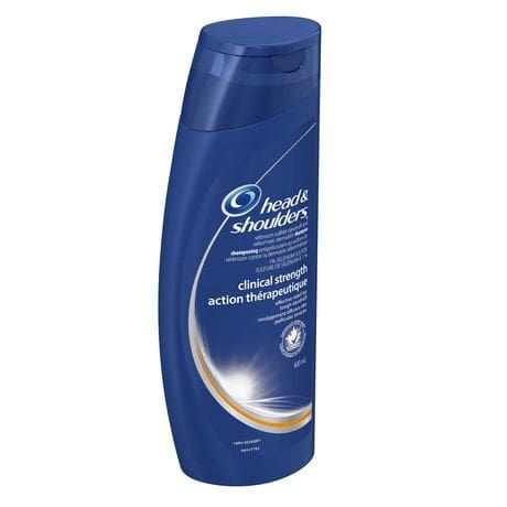 Best Shampoo for Dandruff and Seborrheic Dermatitis: Head and Shoulders Clinical Strength Dandruff and Seborrheic Dermatitis Shampoo