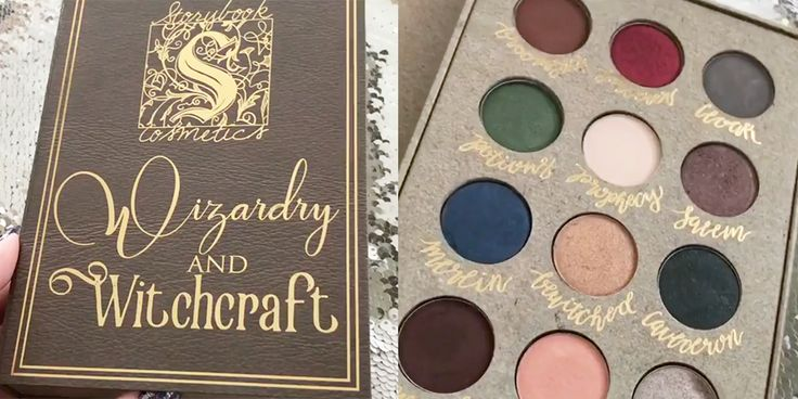 "Here's Your Official First Look at the ""Harry Potter"" Eyeshadow Palette - Cosmopolitan.com"